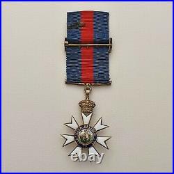 Grande Bretagne Ordre de St Michel et St George, croix de chevalier, vermeil