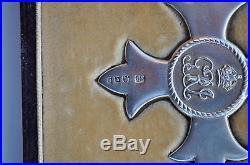 Grande Bretagne Ordre de l'Empire Britanique, croix de chevalier dans son écrin