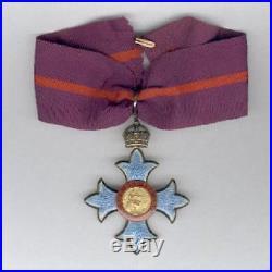 Grande-Bretagne Ordre de l'Empire Britannique Militaire Commandeur 1er type