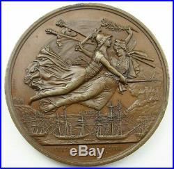 Grande médaille Napoléon III, prise de BOMARSUND 16 aout 1854