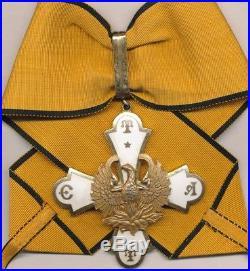 Grèce Ordre du Phoenix, 1er type, commandeur
