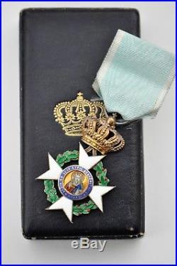 Grèce Ordre du Sauveur, chevalier de 1ere classe, en vermeil, écrin d'origine