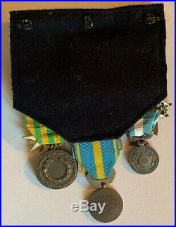 Groupe officier marine Suez Indochine légion honneur Ordre mérite maritime naval