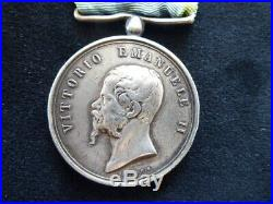 ITALIE Crimée Crimea 1855 1856 VITTORIO EMANUELE II G. FERRARIS