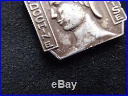 Indochine 1929 Médaille de la Garde Indigène Argent Mercier, créée en 1929