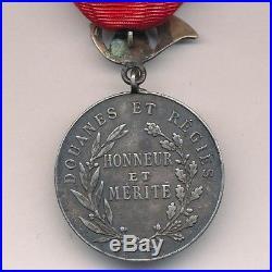 Indochine Médaille dhonneur des douanes et régies