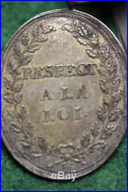 Insigne De Fonction De Procureur General Convention 1792