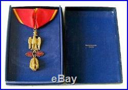 Insigne Ordre Impérial Des 3 Toisons D'or Empereur Napoléon 1er Premier Empire