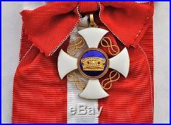 Italie Ensemble de Grand Croix de l'ordre de la Couronne d'Italie