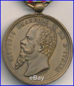 Italie Médaille de l'indépendance et de l'unité de l'Italie 1859