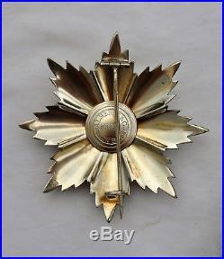 Italie Ordre du Merite de la République, ensemble de Grand Croix