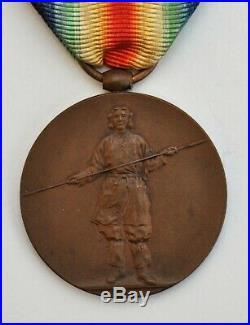 Japon Médaille Interalliée 1914-1918, bronze, parfait état