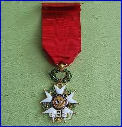 Légion D'honneur Officier Ordonnance Or Poinçon Tête D'aigle 1870