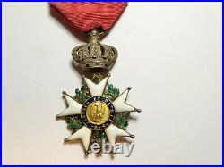 L'étoile de LEGION d'HONNEUR, chevalier, 37 mm, argent, II émpire / 00015
