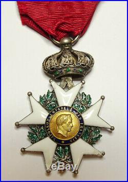 L'étoile de LEGION d'HONNEUR, chevalier, 41 mm, argent, II émpire / 00014