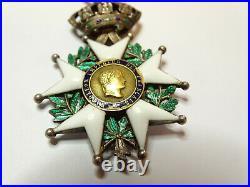 L'étoile de LEGION d'HONNEUR, chevalier, 42 mm, argent, II émpire / 00012
