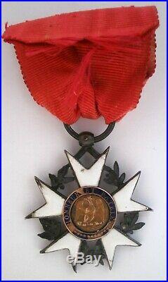 LEGION D'HONNEUR PREMIER TYPE EMPIRE Ordre Napoléon order medal medaille FRANCE
