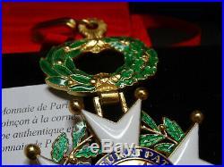 LEGION d'HONNEUR / Commandeur / V Republique // vermeil / Monnaie de paris
