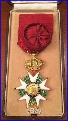 Legion D'honneur Officier En Or Massif