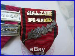 Légion Étrangère-2º REP-Kolwezi-lot- Rep Du Zair /OPS SHABA d´or massif