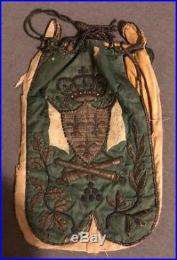 Legion Etrangère Guerre Carlistes, bourse de récompense à un officier Suisse