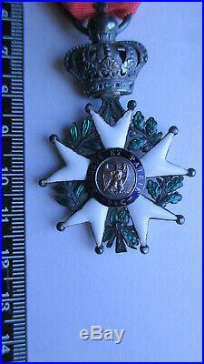 Légion d'HONNEUR Second Empire NAPOLEON III légèrement réduite