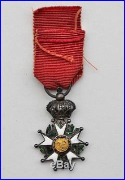 Légion d'Honneur, Empire, chevalier du 4° type, modifié restauration, réduction