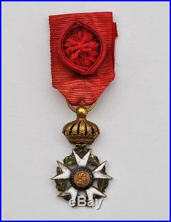 Légion d'Honneur, Empire, croix d'officier en or, 2° type, modifié restauration