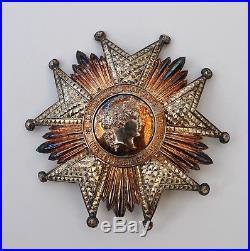 Légion d'Honneur, plaque de Grand Croix, III° République, Arthus Bertand, écrin