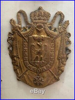 Legion d honneur empire Plaque Et Diplôme Médaille Militaire