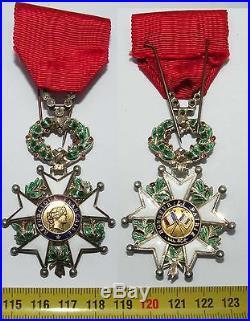 Légion d honneur en Or et diamants d officier IV république