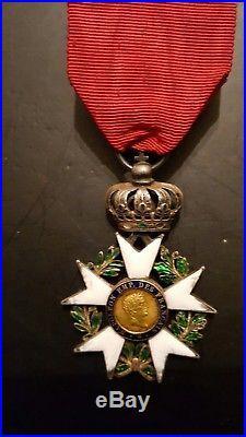 Legion honneur 1er empire 1804 napoleon 1er 3eme type order medal