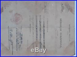Lot 7 Diplomes + 5 Medailles D'un Legionnaire Epoque Indochine Algerie
