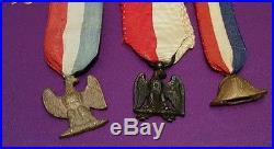 Lot MEDAILLE commemoratives politiques empire LEGION D'HONNEUR NAPOLEON