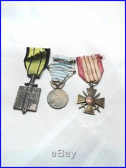Lot medailles Ordre liberation levant milan
