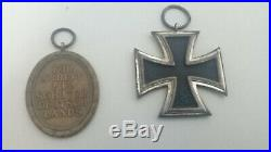Lot medailles allemandes ww2 croix de fer sudwall