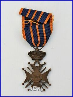 Luxembourg Croix de Guerre 1940
