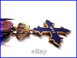 Médaille croix bravoure Michel le Brave 1916 Roumanie 1916 casque à pointe 14-18