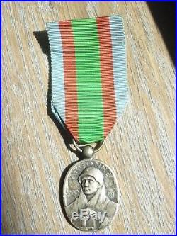MA% Belle médaille de l'ARGONNE VAUQUOIS 1914 1918 french Medal N°1