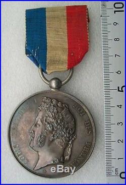 MEDAILLE ACTE DE DEVOUEMENT LOUIS PHILIPPE 1847 MONTAUBAN diamètre 52mm