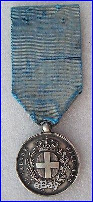 MEDAILLE AL VALORE MILITARE SPEDIZIONE D'ORIENTE 1855 1856 second empire crimee
