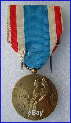 MEDAILLE DE LA FIDELITE guerre de 1914-1918 RARE