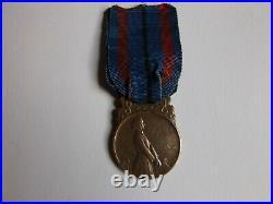MEDAILLE DES VICTIMES DE L'INVASION- bronze- GUERRE 1914/1918 par P. V. DAUTEL