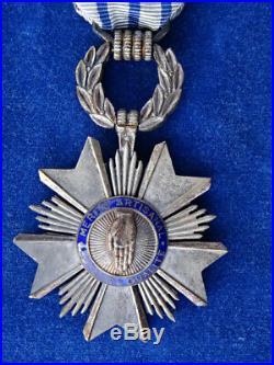 MEDAILLE / Medal CHEVALIER ORDRE MERITE ARTISANAL SUPERBE! RARE