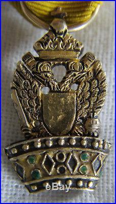 MIN407 Miniature ORDRE DE LA COURONNE DE FER Autriche
