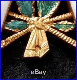 Magnifique Croix de commandeur de la Légion d'Honneur 2nd Empire en or poinçonné