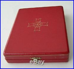 Malte Croix De Commandeur Du Merite CIVIL Ordre Pro Merito Melitensi