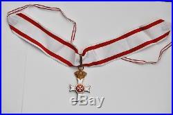 Malte Ordre Souverain de st Jean de Jerusalem, croix de commandeur