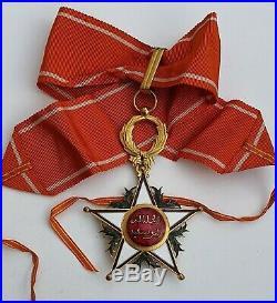 Maroc Commandeur de l'ordre du Ouissam Alaouite
