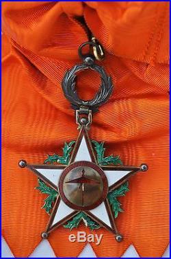Maroc Ensemble de Grand Croix de l'ordre du Ouissam Alaouite